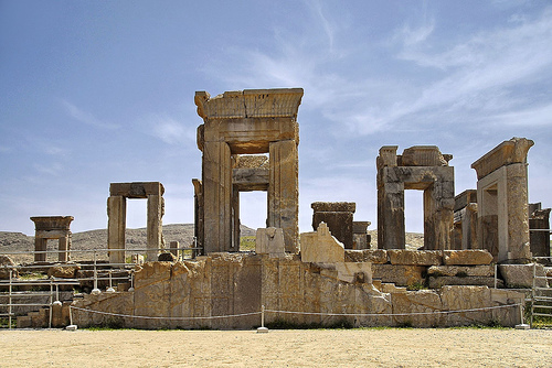 "Persepolis also known as Takht-e Jamshid New Persian: تخت جمشيد Takht-e Jamshid or پارسه Pārseh), literally meaning ""city of Persians"", was the ceremonial capital of the Achaemenid Empire (ca. 550–330 BCE melia hotels international Melia Hotels International is coming to Iran Persepolis"