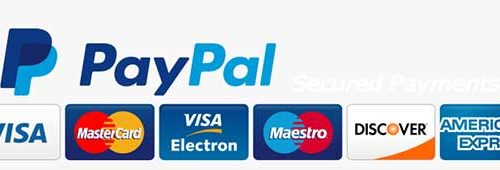 Paypal, Paypal credit, major credit and debit cards