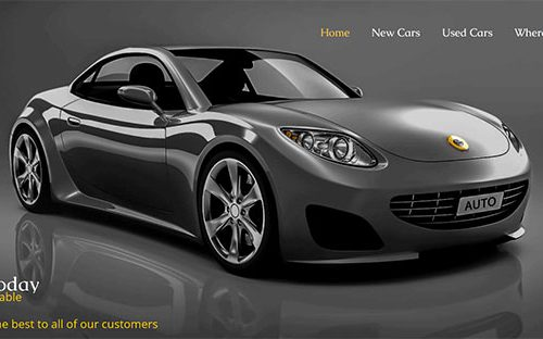SEO webdesign for car dealer - Auto Dealer Website Design - Automotive Website Designs